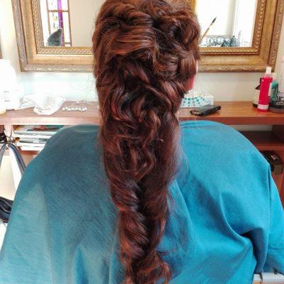 weddiing hairstyle, šukuosenos